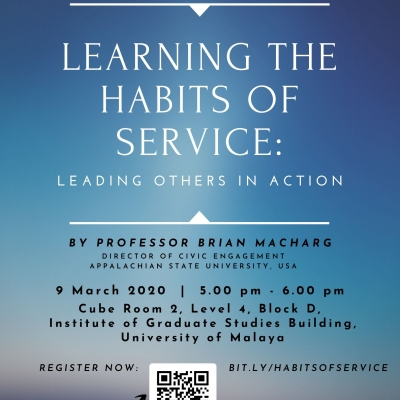 Learning the Habits of Service: Leading Others in Action, 9 March 2020